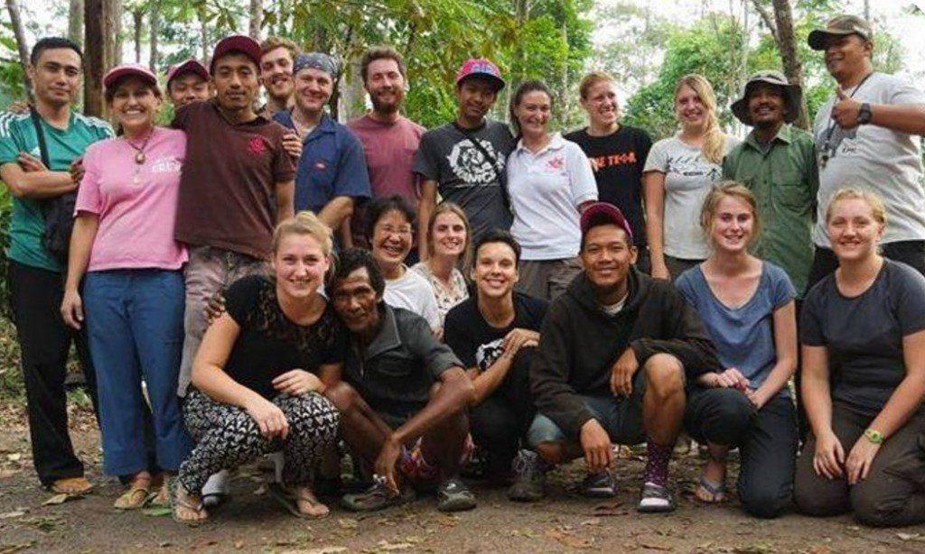 vrijwilligerswerk vrijwilligers indonesie wanicare Cikananga wildife volunteer java